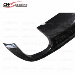 CARBON FIBER REAR DIFFUSER(T-4) FOR 2009-2011 AUDI A6 C6 SLINE