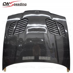 GTR STYLE CARBON FIBER HOOD FOR 1990-1998 BMW 3 SERIES E36 2D