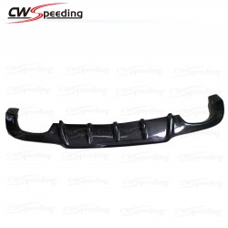 C63 STYLE CARBON FIBER REAR DIFFUSER FOR 2012-2014 MERCEDES-BENZ W204